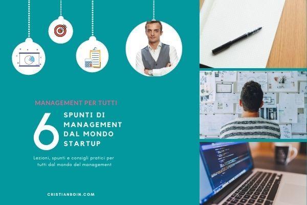 cover 6 consigli di management dal mondo startup