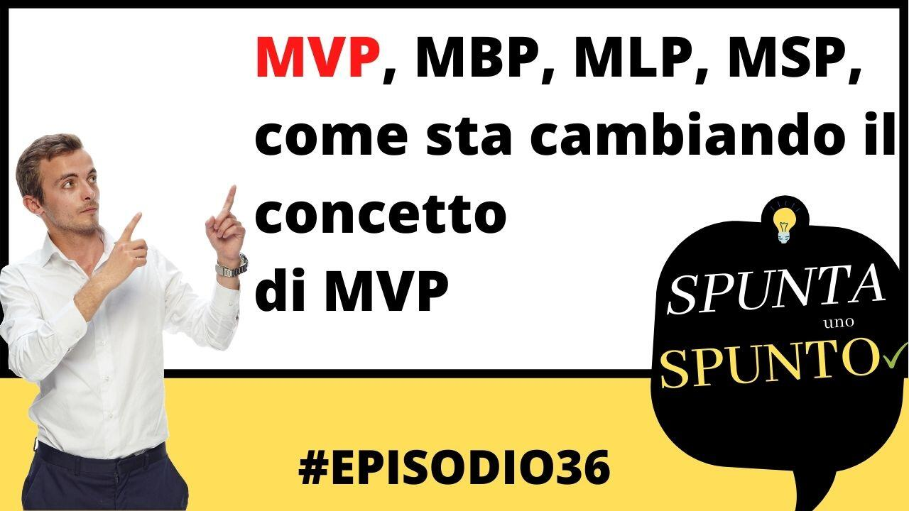 mvp minimum viable product evoluzione cover podcast