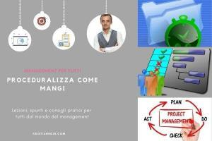 procedure efficaci, come scriverle, proceduralizza come mangi cover